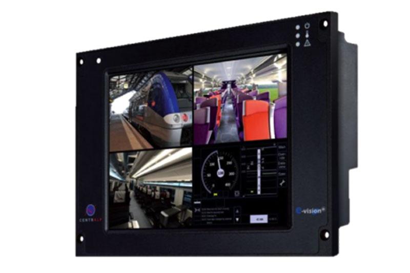 E-vision Plus - Console IHM secteur ferroviaire