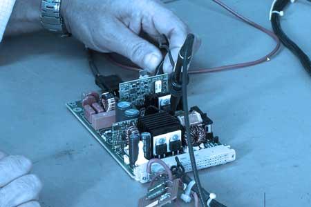 Cage de faray test qualité de systemes electroniques embarques