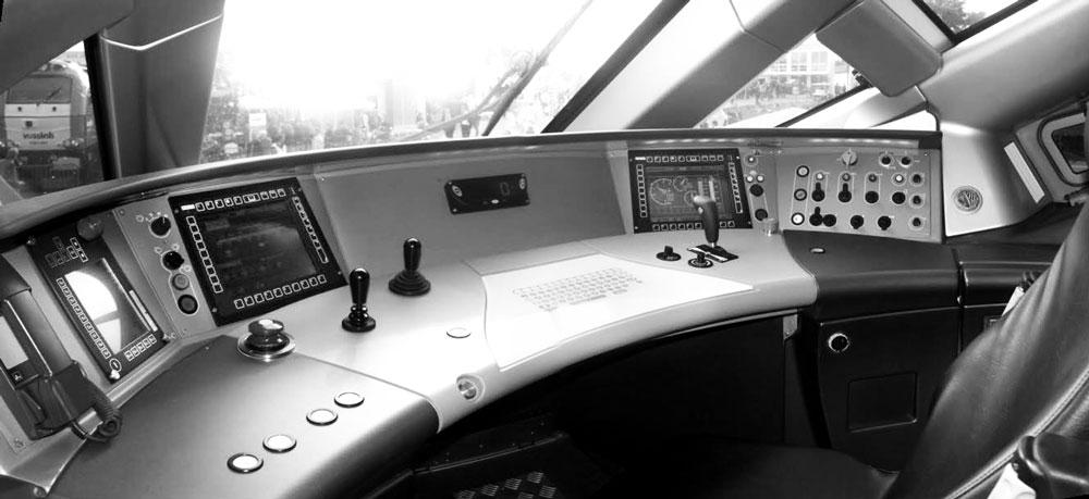 K-Vision ERTMS/ETCS/CBTC - console ferroviaire